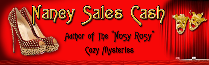 Nancy Sales Cash - International Author & Cozy Mystery Writer