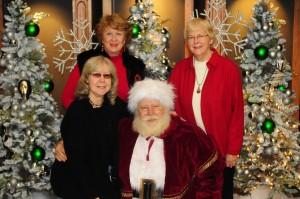 Nancy Dillingham, Nancy Sales Cash, Santa & Celia Miles